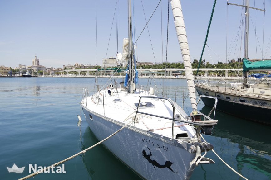 Sailing boat rent Jeanneau Sun Magic 44 in Regatta Academy, Málaga