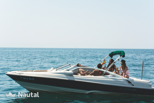 Motorboat rent Regal 2100 LSR in Port d'Aro, Girona