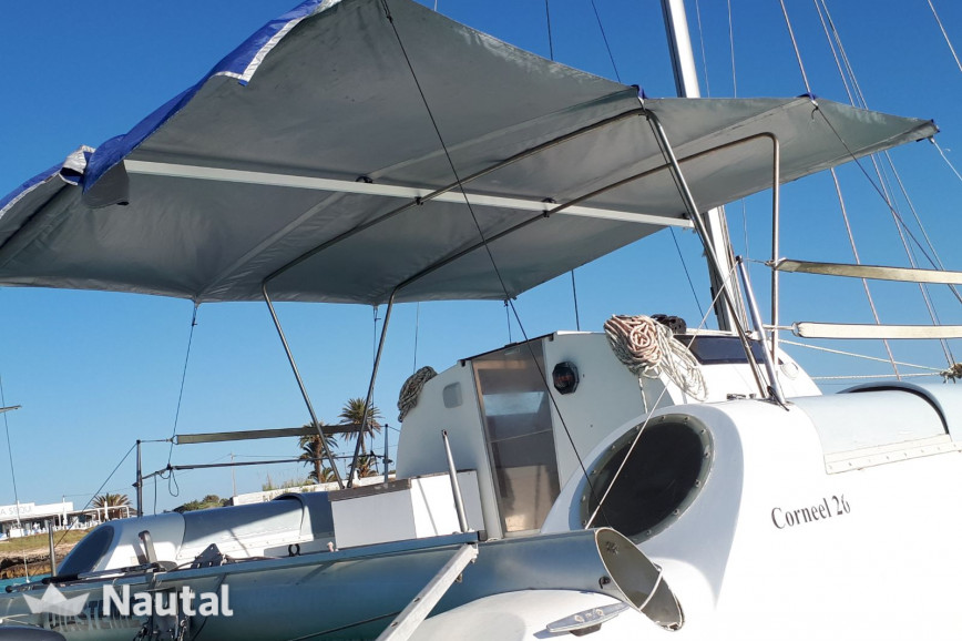 Catamaran rent Fontain Pajot coneel 26 in La Savina, Formentera