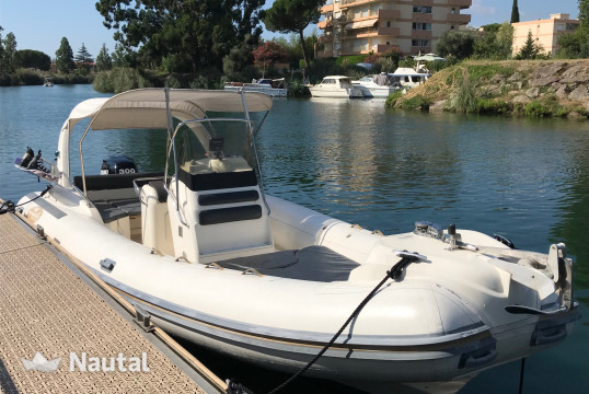 Rib rent NUOVA JOLLY King 720 in Port Inland, Alpes Maritimes - Cannes