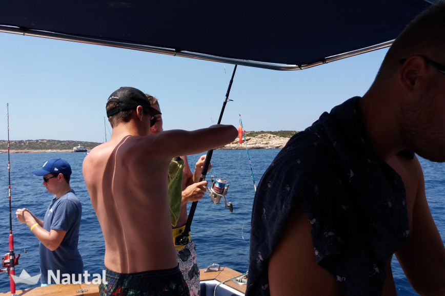 Alquilar barco de pesca Chris Craft catalina 33 en Port de Sant Antoni, Ibiza