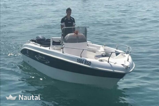 License free boat rent Custom made 190 in Porto di Moniga del Garda, Lake of Garda