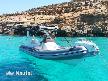 Rib rent SACS SRL Sacs 680 in Manoel Island Marina, Valletta