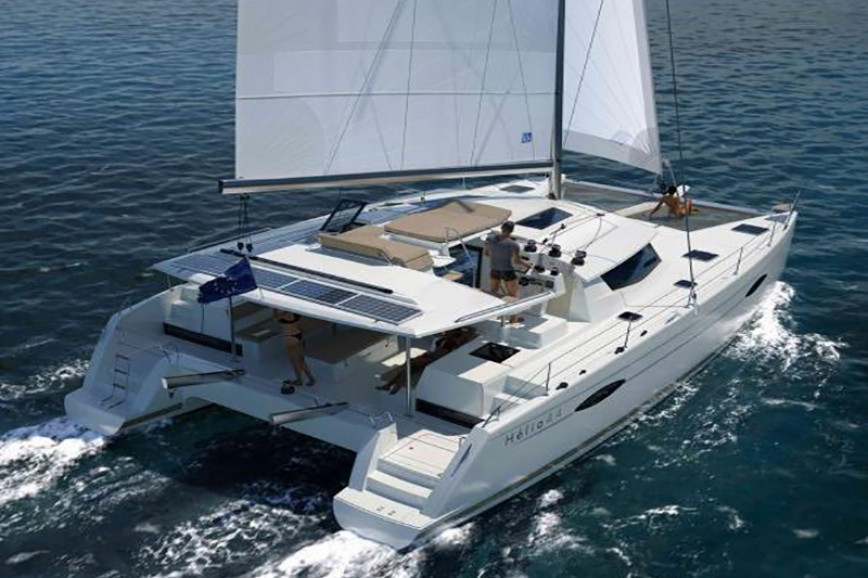 Catamaran rent Fountaine - Pajot Helia 44 in Key West Harbour, Florida Keys