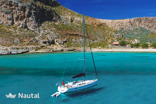 Sailing boat rent Jeanneau SUN ODYSSEY 42i in Kissamos, Crete