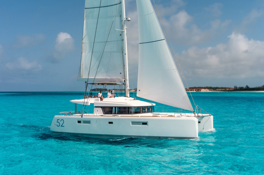 Catamaran rent Lagoon  52 F with watermaker & A/C - PLUS in Harbour View Marina Marsh Harbour, Bahamas