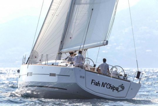 Sailing boat rent Dufour Yachts  460 Grand Large (5 cab) in Marina Delta Kallithea, Athens