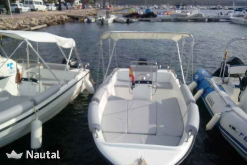 License free boat rent MARION 430 in Fornells, Menorca