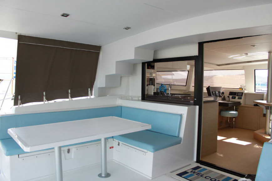 Catamaran rent Catana Bali 4.5 with watermaker & A/C - PLUS in Harbour View Marina Marsh Harbour, Bahamas