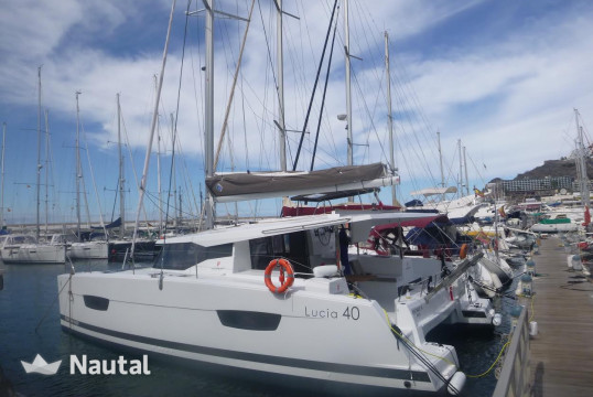 Catamaran rent Fountaine Pajot Lucia 40 in Marina Pointe du Bout, Martinique