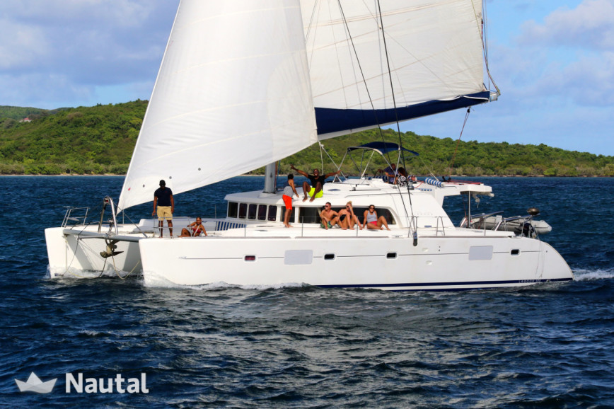 Catamaran rent Lagoon 500 Premium in Port du Marin, Martinique