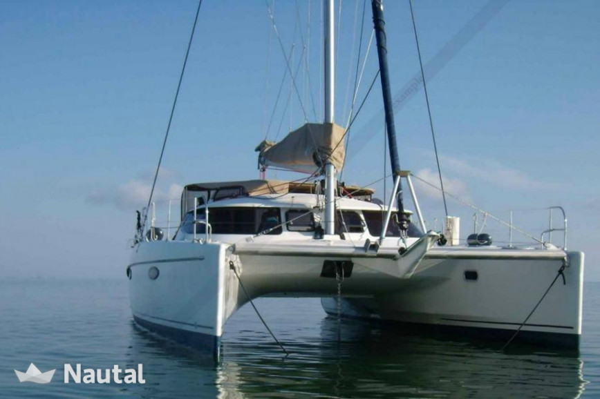Catamaran rent Fountaine Pajot Belize 43 in Marina of Lefkas, Lefkas