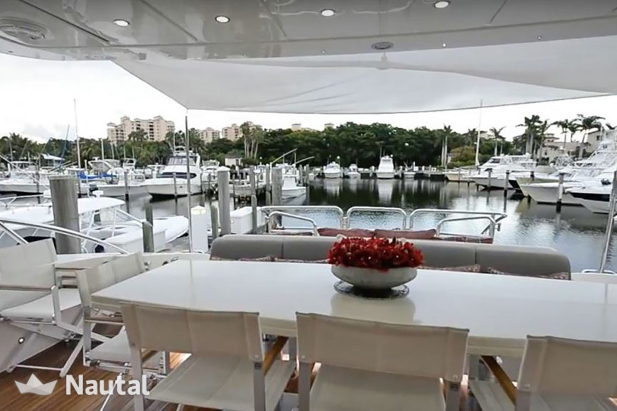 Yacht rent Leopard 105' Yacht in Miami Beach, South Florida