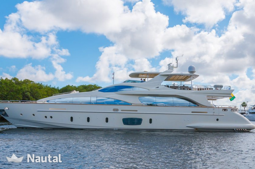 Yacht rent Azimut 105ft in Miami Beach, South Florida