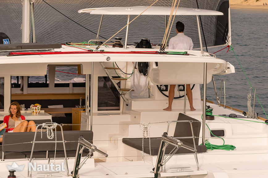 Huur catamaran Lagoon 450s - SporTop in Key West Harbour, Florida Keys