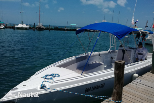 Motorboat rent Custom made offshore2 engines in Isla Mujeres, Cancun