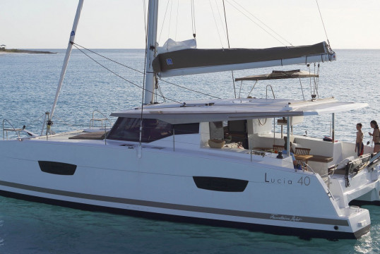 Catamaran rent Fountaine Pajot  Lucia 40 in Ece Marina, Fethiye