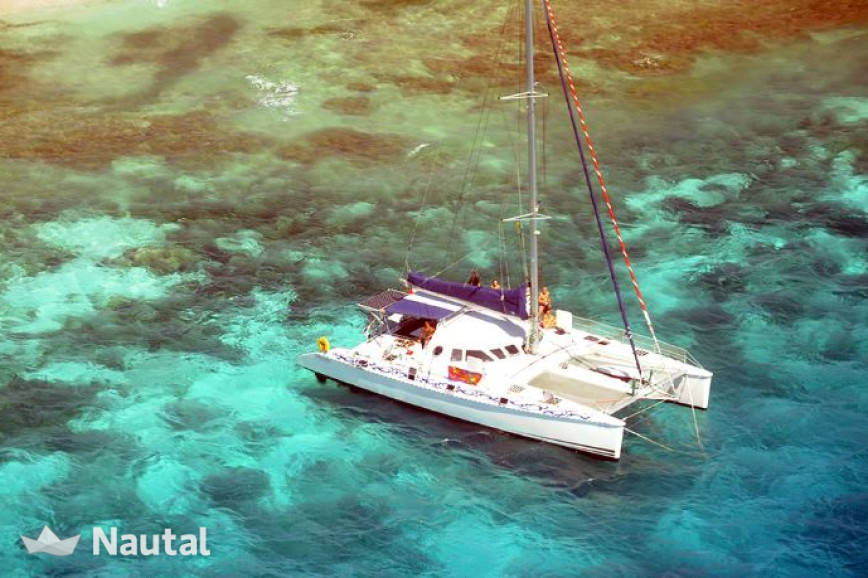 Catamaran rent Outremer  55 ST in Port du Marin, Martinique