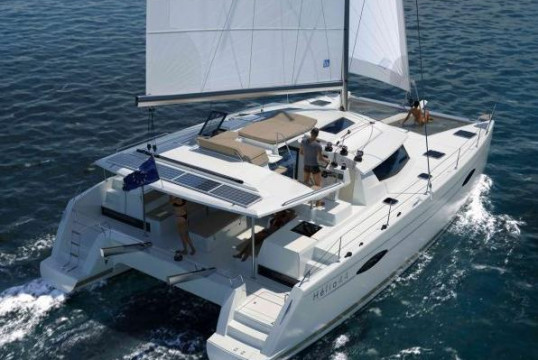 Catamaran rent Fountaine Pajot Helia 44 - 4 cab. in Newport, Rhode Island