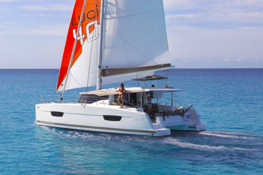 Catamaran rent Fountaine Pajot  Lucia 40 - 3 cab. in Newport, Rhode Island