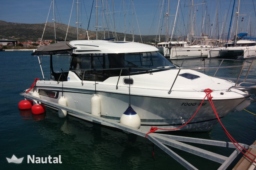 Motorboat rent Jeanneau Merry Fisher 795 in Port Trogir, Split, Hvar