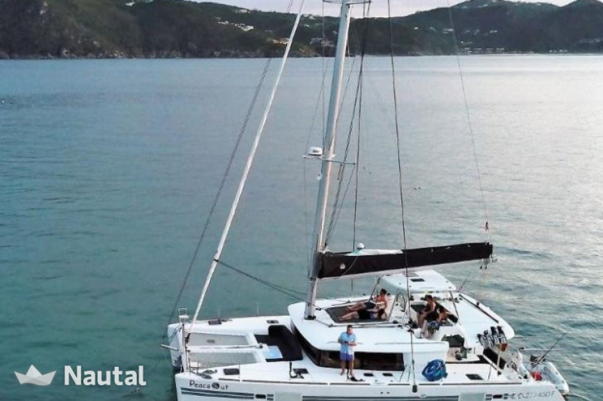 Catamaran rent Lagoon  450  Flybridge in Porto Pozzo, Sardinia