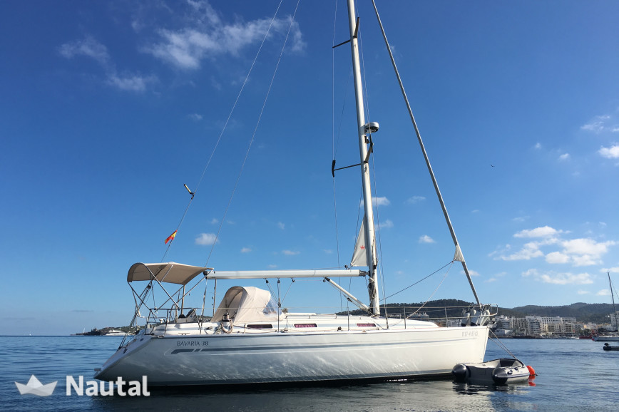 Huur zeilboot Bavaria  38 Cruiser in Port de Sant Antoni, Ibiza