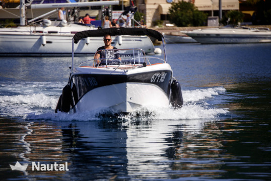 Motorboat rent BARRACUDA 545 in ACI Marina Rab, Rab