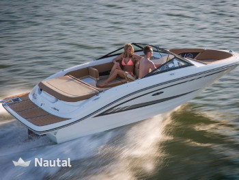 Rent this motorboat of 6 00 meter to reach the best coves
