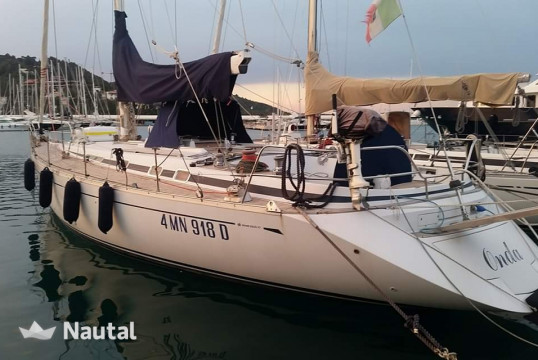 Sailing boat rent Cantiere Del Pardo (Grand Soleil) Grand Soleil 50 in Cala Galera, Tuscany