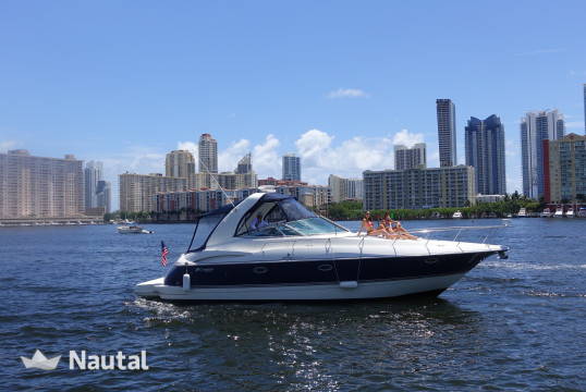 Motorboat rent Cruisers Yachts 370 Express in Turnberry Marina, South Florida