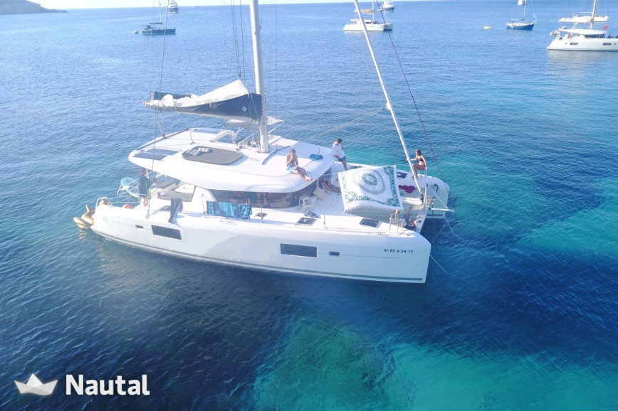 Catamaran rent Lagoon  42 in Port de Sant Antoni, Ibiza