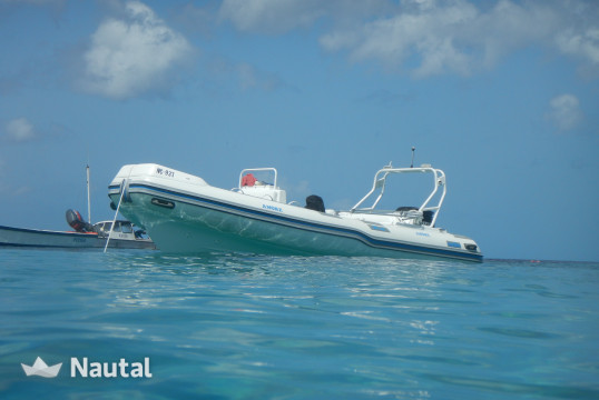 Alquilar neumática Custom made 20 Feet Super Rib en Willemstad, Curazao