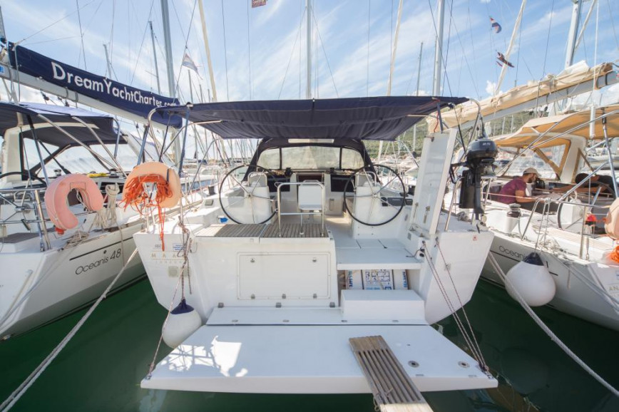 Huur zeilboot Dufour Yachts Dufour 460 GL in Santa Lucia Napoli, Campania