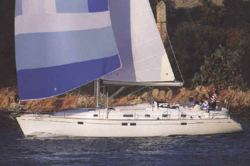 Sailing boat rent Beneteau  46.1 in Lavrio Port, Athens