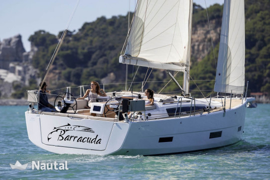 Sailing boat rent Dufour Yachts  390 Grand Large in Marina Delta Kallithea, Athens