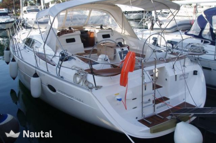 Sailing boat rent Elan  434 Impression in Marina Kalamaki, Athens