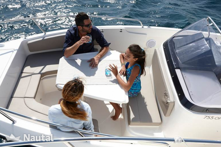 Motorboat rent Quicksilver 755 ACTIV Open in Port of Split, Split, Hvar
