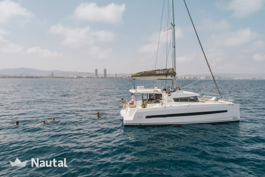 Catamaran rent Bali Catamarans 4.1 in Port Vell, Barcelona