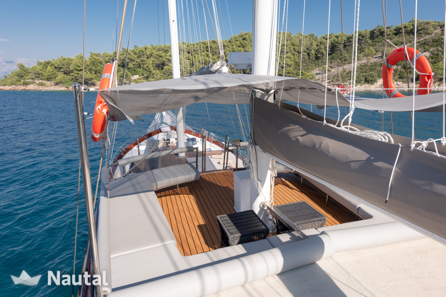 Gulet rent Custom Caicco in Port of Split, Split, Hvar