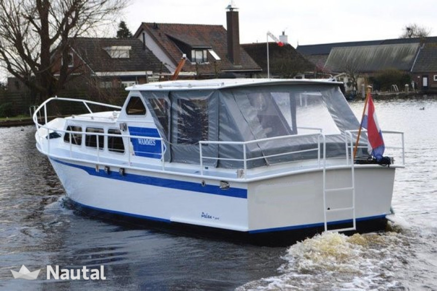 License free boat rent Palan Sport 950 OK in Woubrugge, South Holland