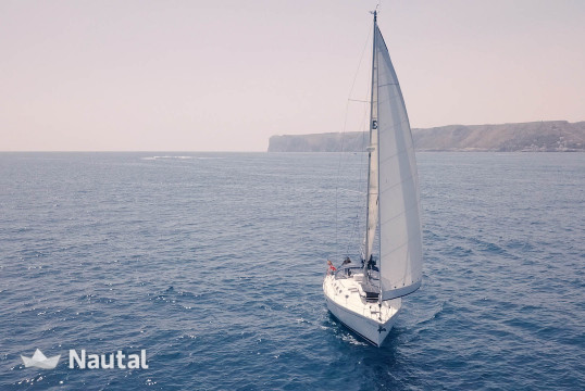 Sailing boat rent Gibsea 43 in Dénia, Alicante