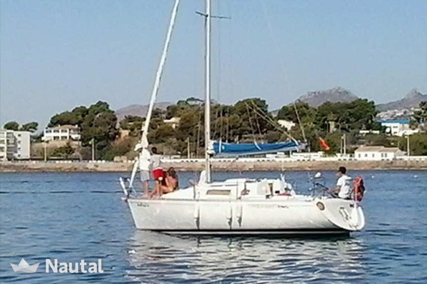 Alquilar velero Beneteau First 285 en Port d'Altea, Alicante