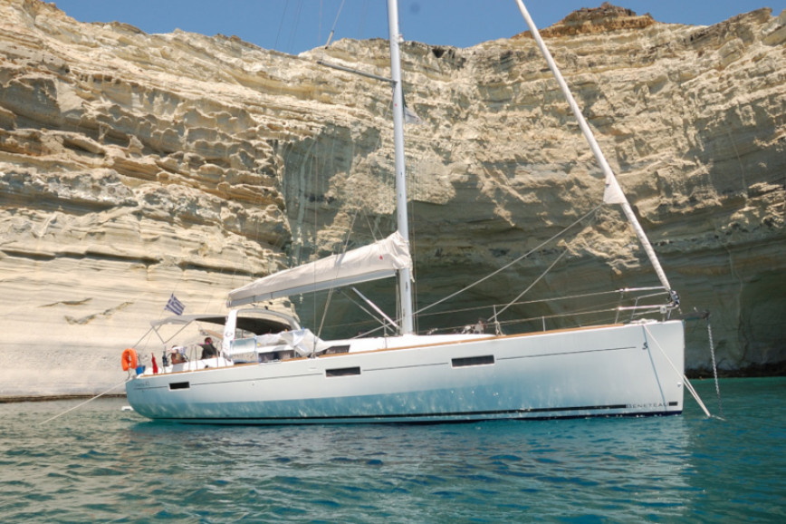 Sailing boat rent Beneteau Oceanis 45 in Lavrio Port, Athens