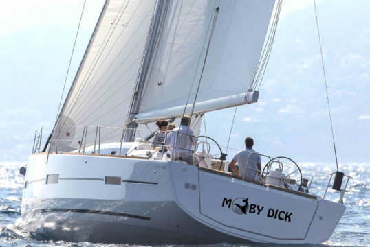 Sailing boat rent Dufour Yachts  460 Grand Large (4 cab) in Marina Delta Kallithea, Athens