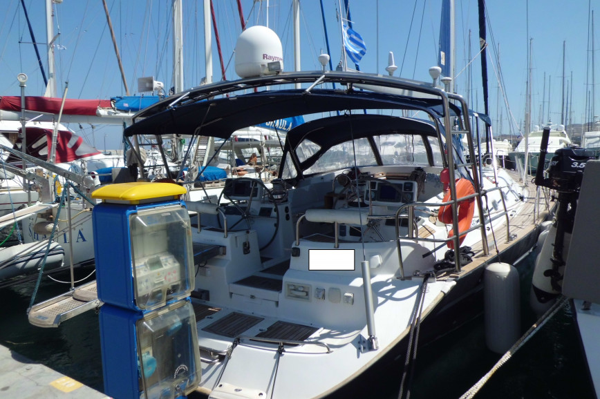 Sailing boat rent Ocean Yachts  Star 56.1 in Marina Delta Kallithea, Athens
