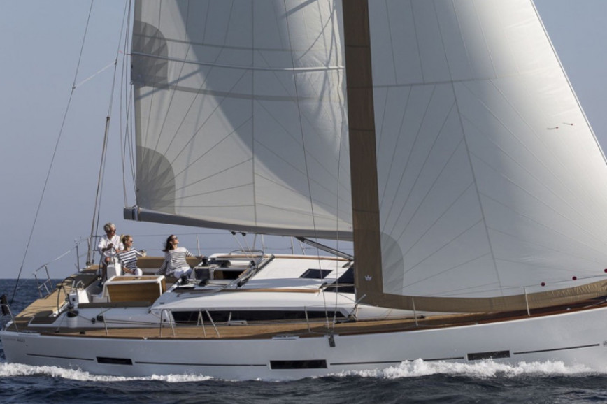 Sailing boat rent Dufour Yachts  460 Grand Large (5 cab) in Lavrio Port, Athens