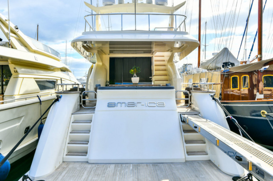Yacht rent Custom Amer 92 in Zeas Port, Athens