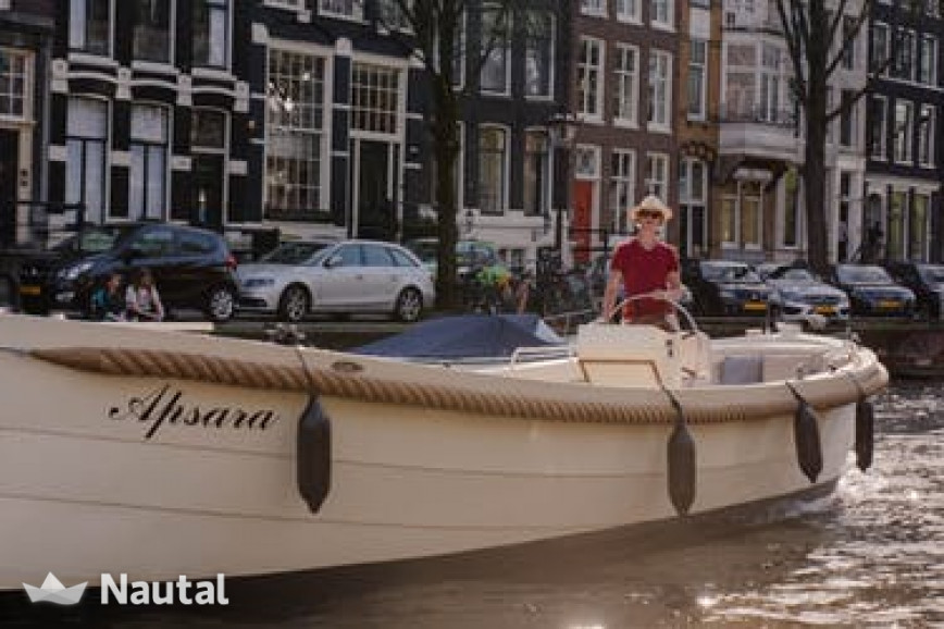 Fishing boat rent Custom Apsara in Amsterdam , North Holland