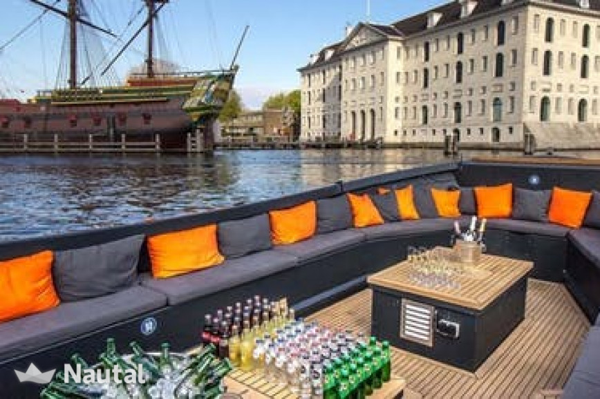 Huur sloep Custom Nomag in Amsterdam Marina, Noord-Holland